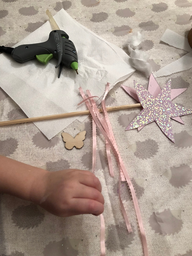 How to make a Fairy Princess Wand
